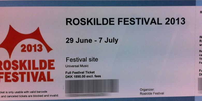 Roskilde billetter