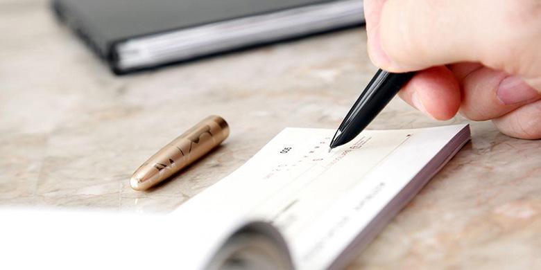 Udløbet check