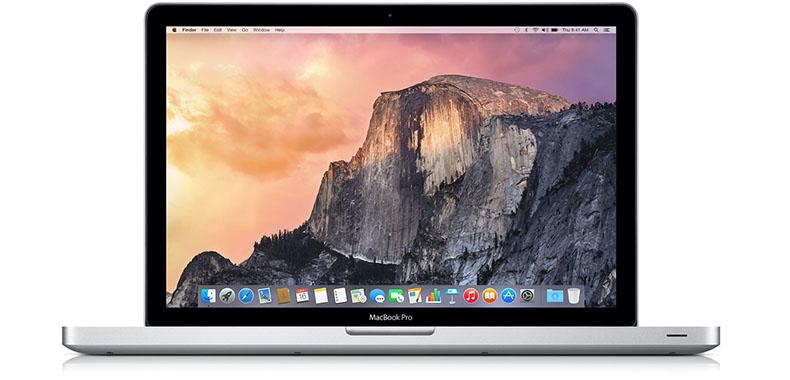 Billede af macbook computer